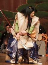 Noh: Funa Benkei - Shiranami no den. Shite: Higaki Toshifumi