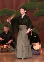 Maibayashi: Tsurukame. Shite: Monique Arnaud