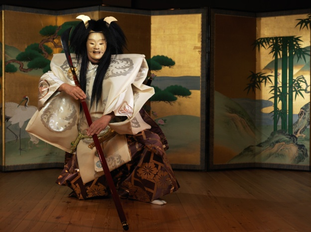 Udaka Michishige as Taira no Tomomori. Photograph: Irwin Wong.