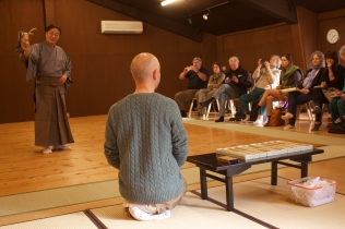 Udaka Tatsushige, Diego Pellecchia and the workshop participants