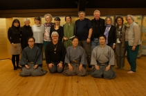 Udaka Michishige, Tatsushige and Norishige with the workshop participants