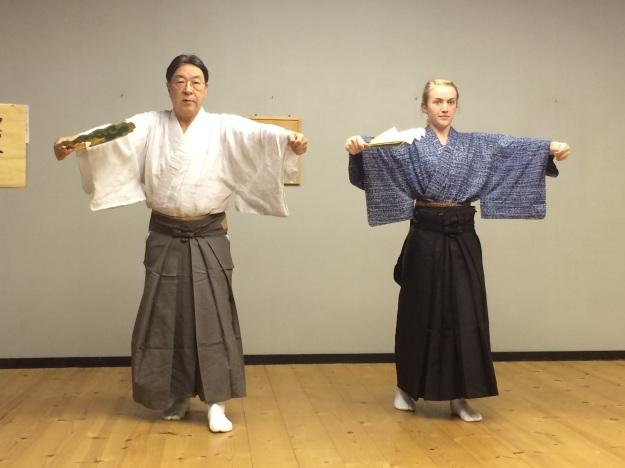 Udaka Michishige and Sadia Gordon