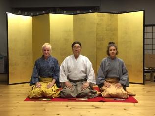 Sadia Gordon, Udaka Michishige and Dorothee Neff