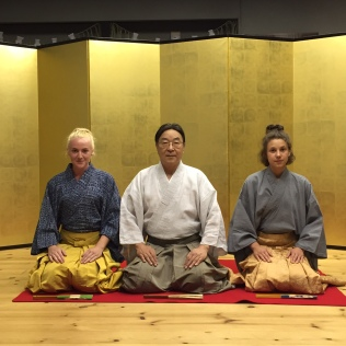 Sadia Gordon, Udaka Michishige and Dorothee Neff